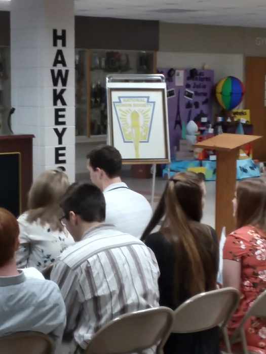 NHS Induction at WHHS