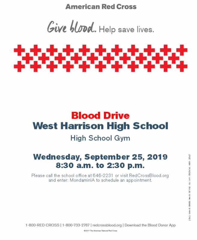 Blood drive information