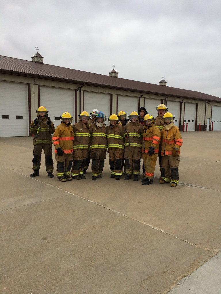 Jr. EMS Hose Training